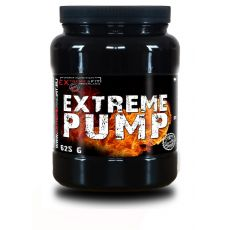 EF - Extreme Pump - 625g-Calories 93 kcal, Total Fat < 0,1 g, Total Carbohydrate 0,8 g , Protein 25 g, Creatin PHX 5000 mg, tricreatine malate 1000 mg , Arginine AKG - alfaketogluatrát 4000 mg, beta alanine 3500 mg ,L-citrulline malate 500 mg,taurine 2000 mg Tytosine 500mg, caffeine anhydrous 100 mg