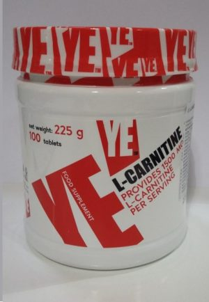 Ye Nutrition-L-Carnitine 1500mg -1tab.
