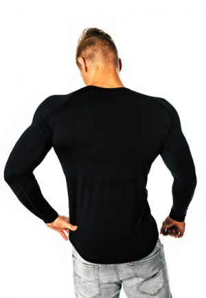 Pánske dlhé tričko s dlhými rukávmi.