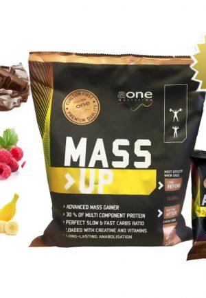 Aone mass up + amino maxi-pep Gratis